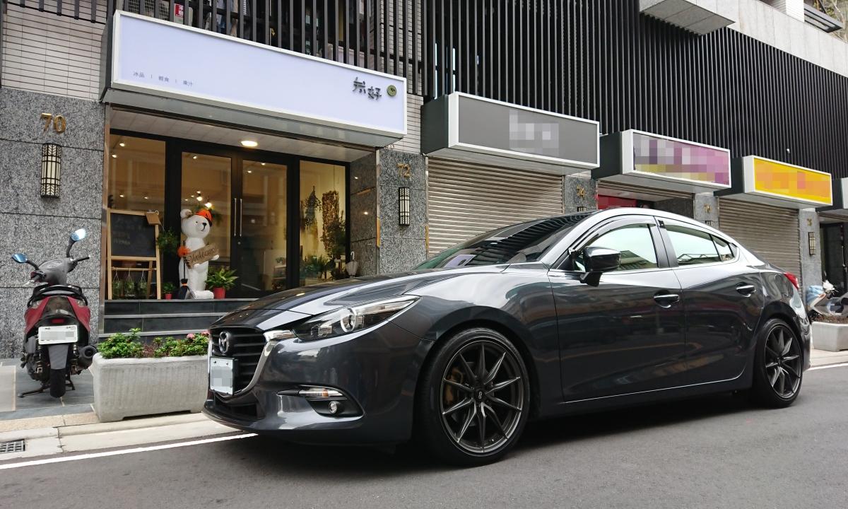 「四輪保養」17樣式New Mazda3 一年成長記錄