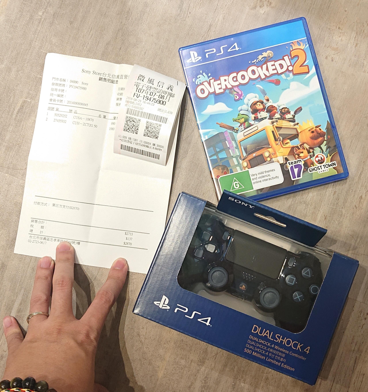 「開箱分享」 限量版 『500 Million Limited Edition』 PS4 遊戲搖桿入手!!