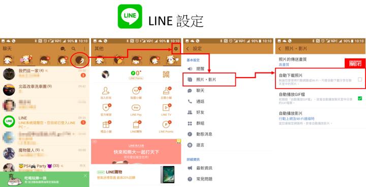 LINE 設定