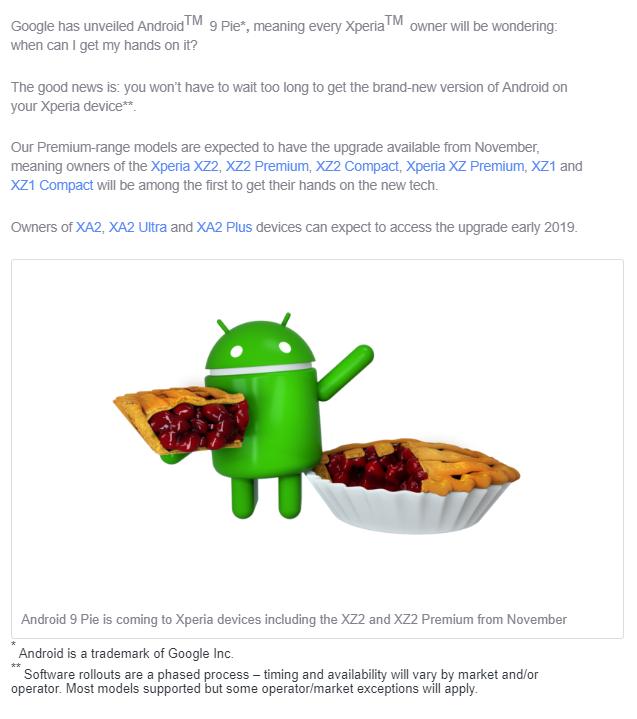 Sony 手機升級 Android 9 差別在那,快速分析給你看! - 14