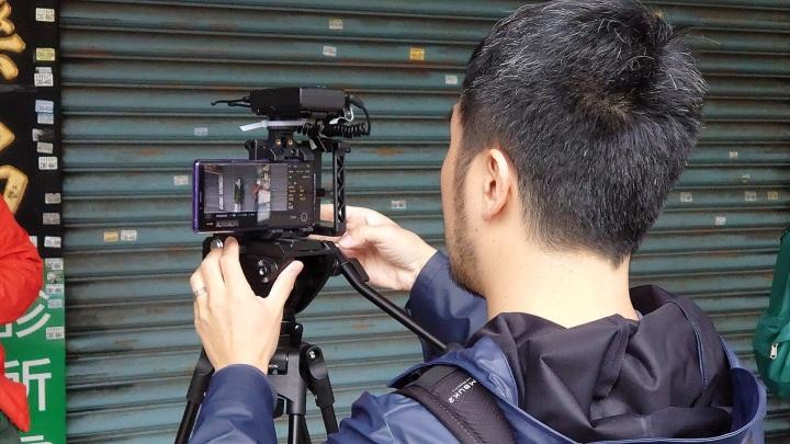 圖說三、電影級專業錄影功能Cinema Pro提供更接近專業電影的創作感受