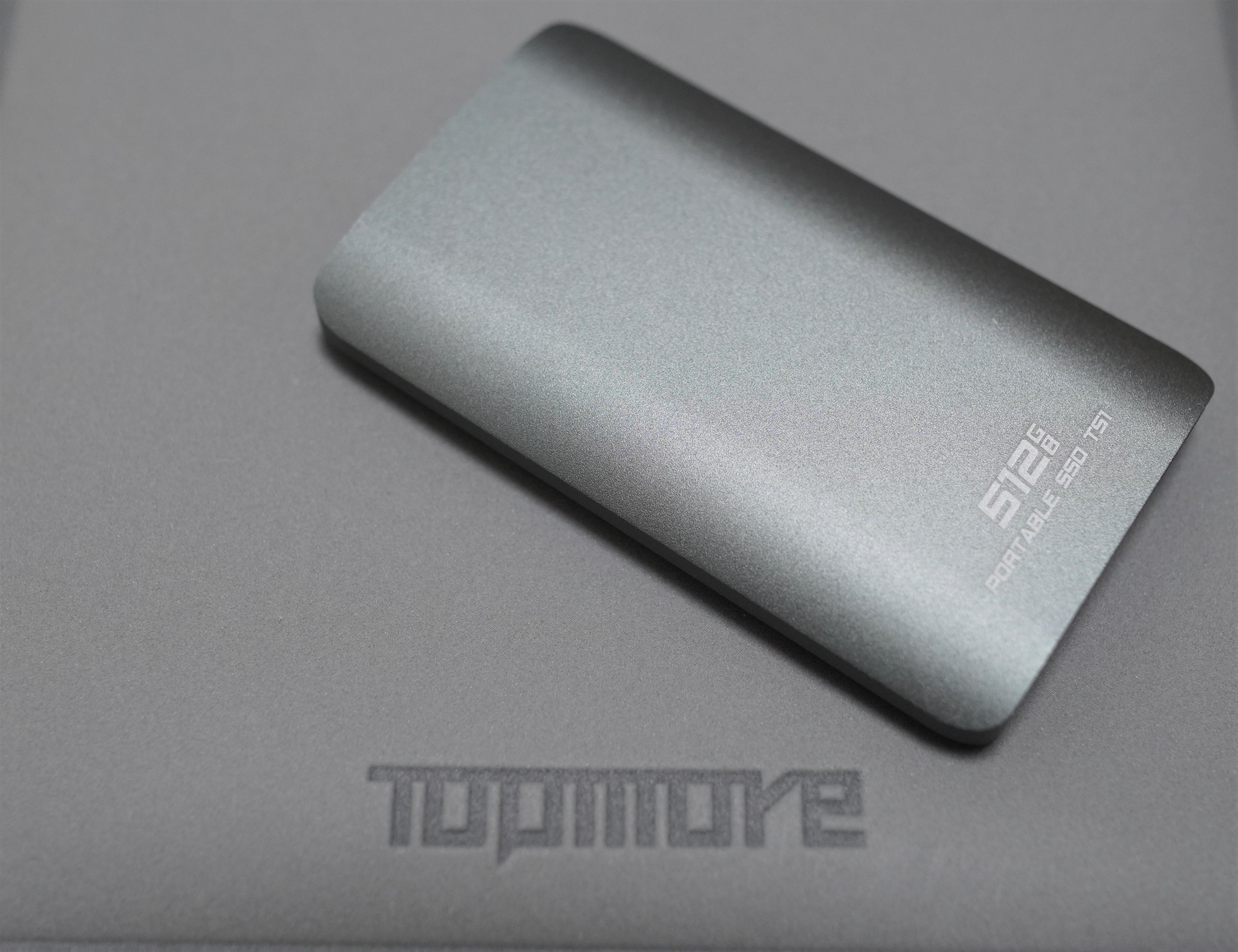 「開箱分享」Topmore Portable SSD TS1 外接式固態硬碟,高速讀寫、輕巧攜帶, PC、PS5、PS4、智慧型手機均可使用